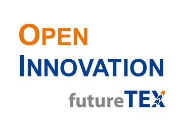 Logo Basisvorhaben Open Innovation (futureTEX)